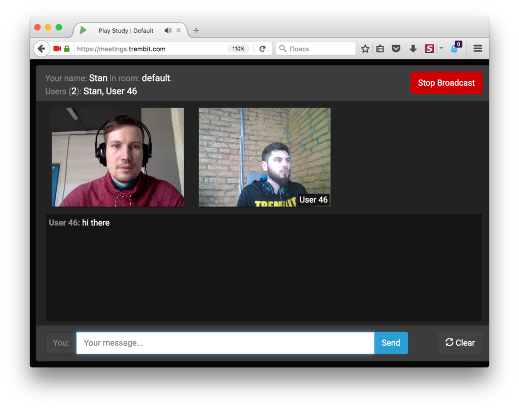 WebRTC many to many video conference with Kurento and Scala