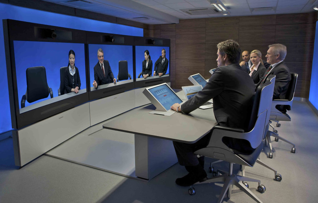 Modern WebRTC video conferencing applications