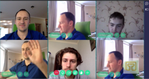 How many participants can we place in one WebRTC peer 2 peer room 5